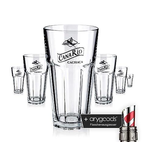 6 x Cana Rio Cristal Jumbo Cóctel vasos de cóctel gastro bar ...