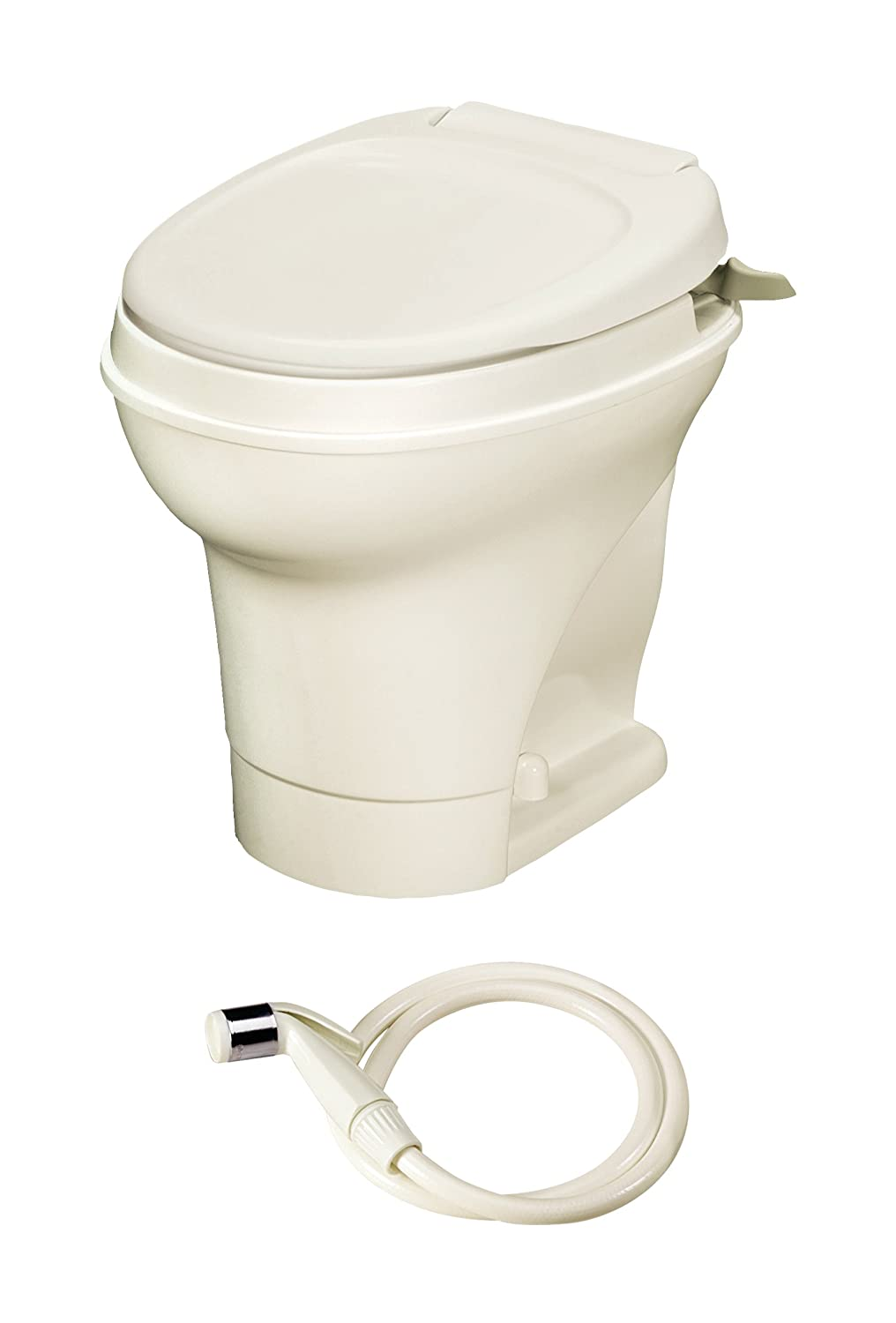Thetford 31675 Aqua Magic V White High Hand Flush with Water Saver NOSYJ 25021709