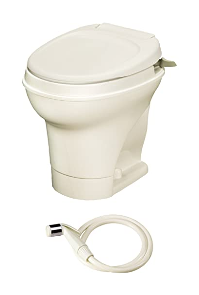 Amazon.com: Aqua-Magic V RV toilet Hand Flush with Water Saver ...