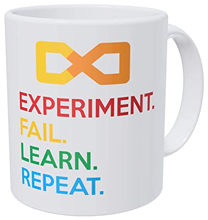 14a519b43bc Amazon.com: Wampumtuk Science Experiment. Fail. Learn. Repeat ...