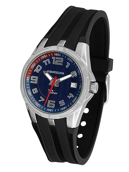 Viceroy 432606-35 - Reloj FC Barcelona Cadete quarzo negro / azul: Amazon.es: Relojes