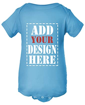 ba4839946651 Design Your OWN Onesie - Custom Baby Onesies - Personalized Newborn Outfits  Aqua