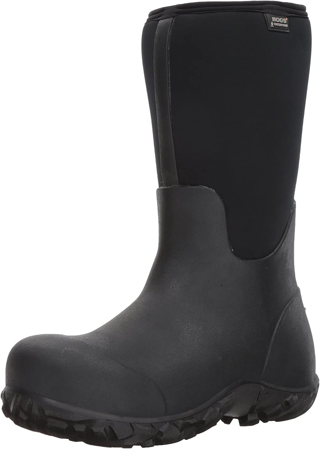 Bogs Men's Workman Composite Toe Boot, Black, 7 D(M) US