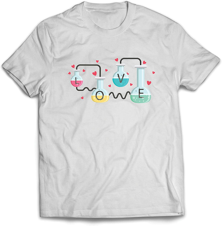 lepni.me Camisetas Hombre La fórmula del Amor, Ciencia, química - Regalo de San Valentín: Amazon.es: Ropa y accesorios