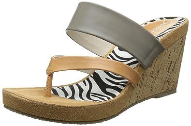 625bb7014806 Skechers Cali Women s Modiste-Animalistic Wedge Sandal