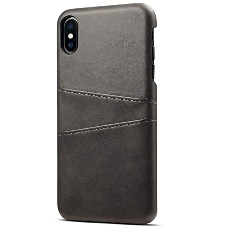 new style 8712e 11a75 SUTENI Case Compatible iPhone Xs, 5.8 inches, Ultra-Slim Leather ...