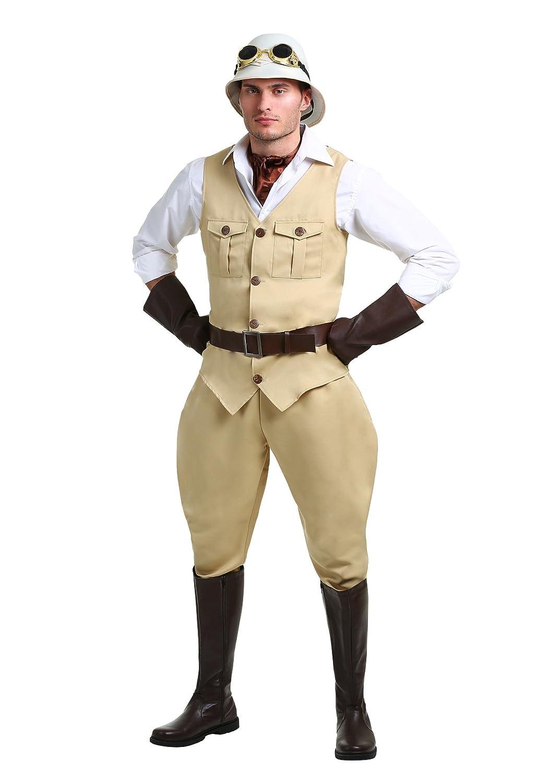 promociones emocionantes Safari Hunter Plus Size Mens Fancy dress dress dress costume 2X  hasta 60% de descuento