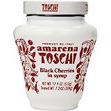 Amarena Toschi Italian Black Cherries in Syrup 17.9 Oz. by Toschi