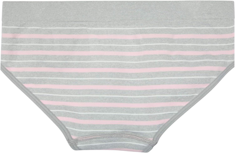 4 Pack DKNY Girls Nylon//Spandex Seamless Hipster Underwear