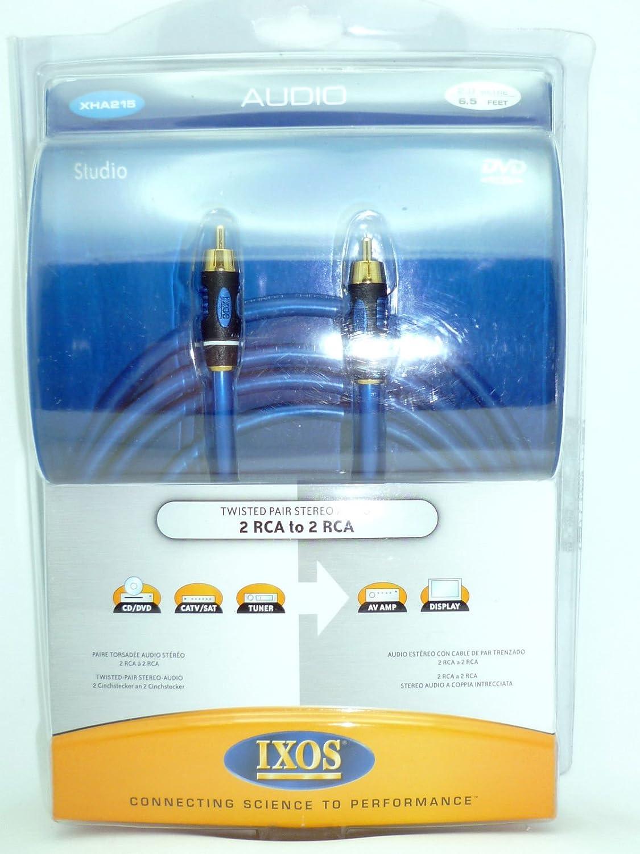Amazon.com: IXOS XHA215 RCA Audio Interconnect cables 2 meters: Home ...
