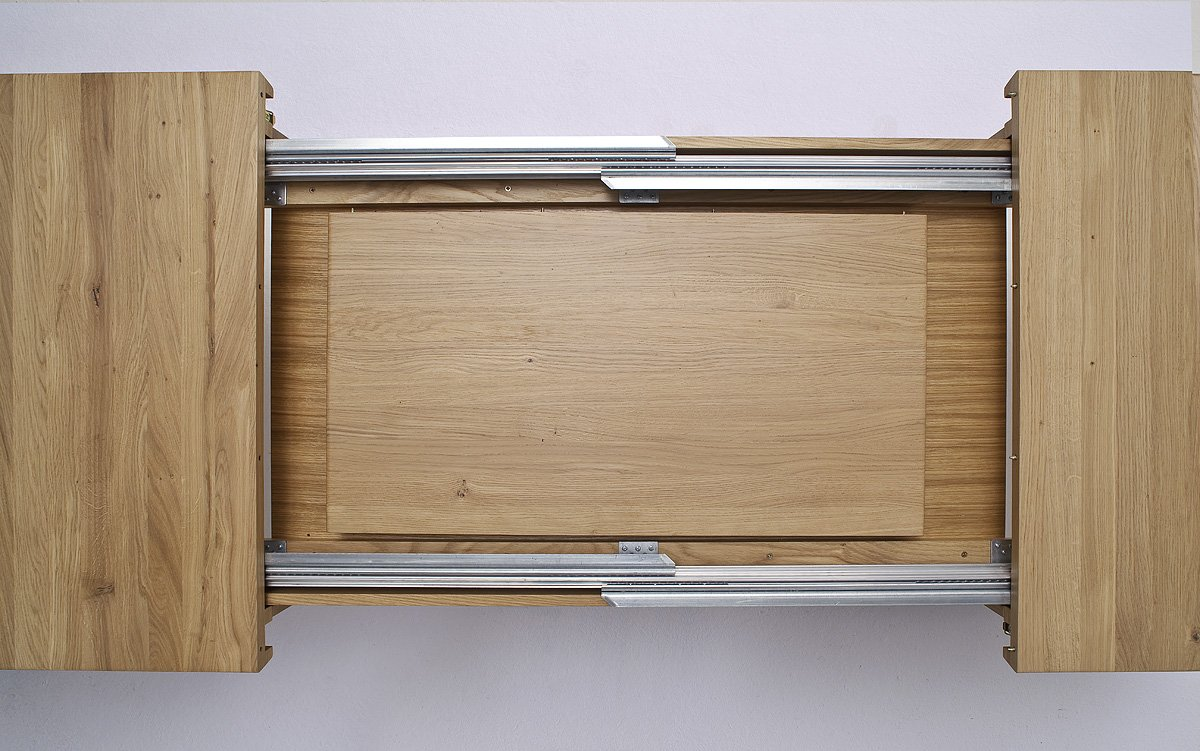 Verführerisch Massiv Esstisch Ausziehbar Dekoration Von Robas Lund Tisch, Esszimmertisch, Säulentisch, Bolzano, Eiche/massivholz,