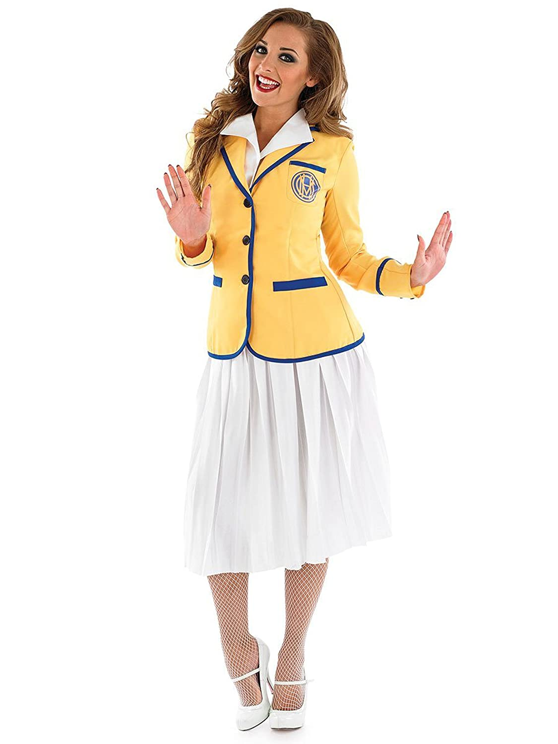 Holiday Camp Hostess - Adult Fancy Dress Costume - Small to XXL