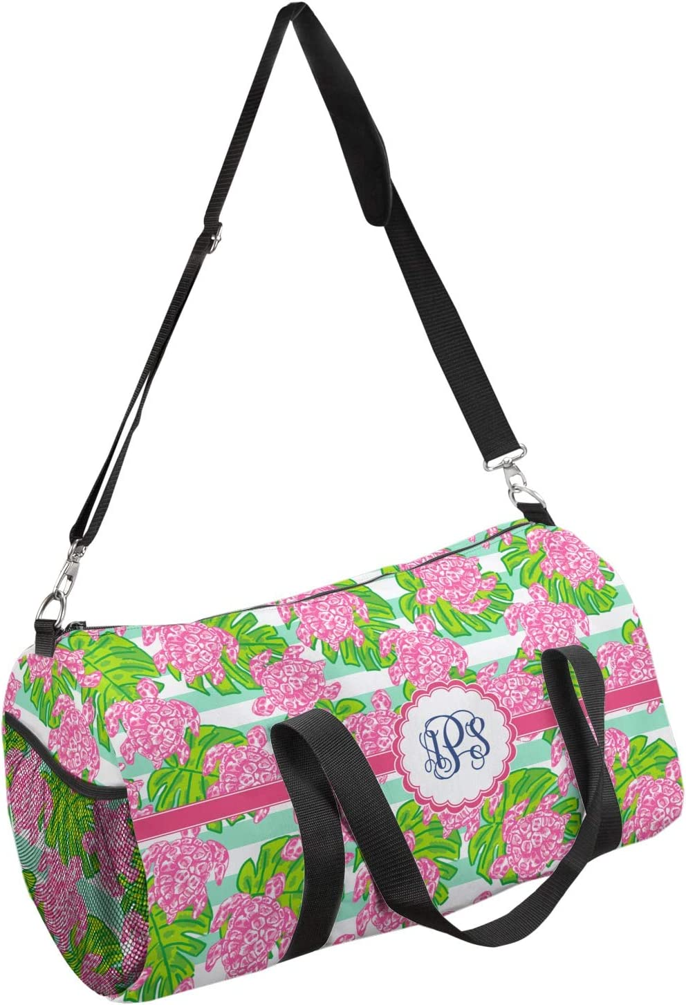 YouCustomizeIt Preppy Duffel Bag Personalized