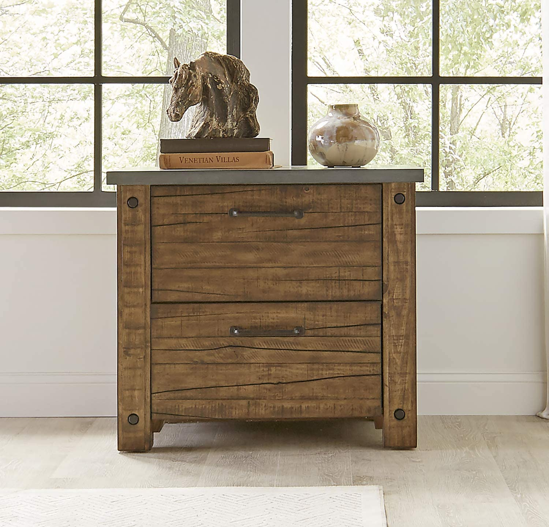 Martin Furniture IMJA450 Lateral File, Brown