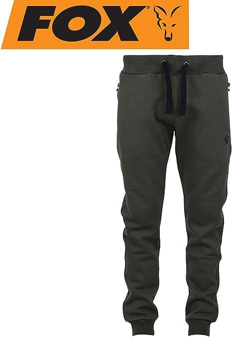 Fox Green Black Joggers – Angel Pantalones, Pantalones para Pesca ...