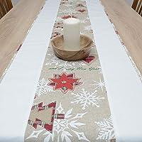 Maravilloso Tapete de Mesa, Merry Christmas, Navidad, HomeAtelier Decoración Textil, el Mejor Regalo para Hermosa Cocina…