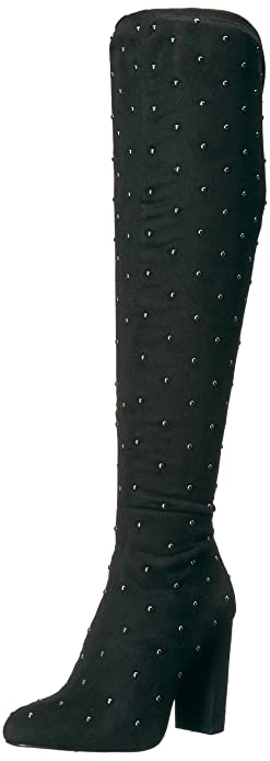 2af68402291 Jessica Simpson Women s BRESSY Fashion Boot Black Suede 5.5 Medium US