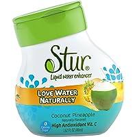 Stur - Agua + piña líquidas del coco
