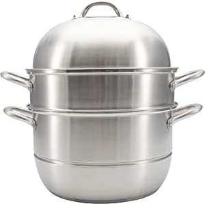 RanRan Premium Stainless Steel Steam Cooker, 11