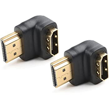 Amazon Com Cable Matters 2 Pack 90 Degree Right Angle