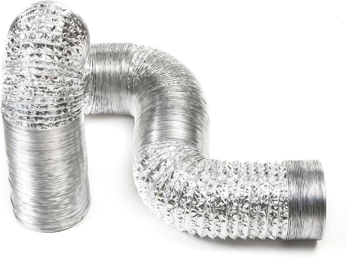 STERR – 3 m Manguera flexible de aluminio 100 mm - ALD100
