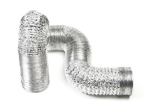 STERR 6 m Aluminium Flexschlauch L/üftungsschlauch 125 mm ALD125/_6