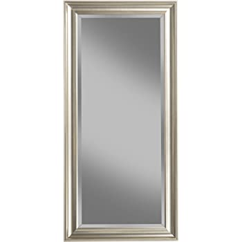 Amazon Com Extra Long Contemporary Silver Wall Mirror