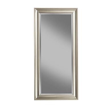 Sandberg Furniture 14011 Champagne Silver Full Leaner Mirror