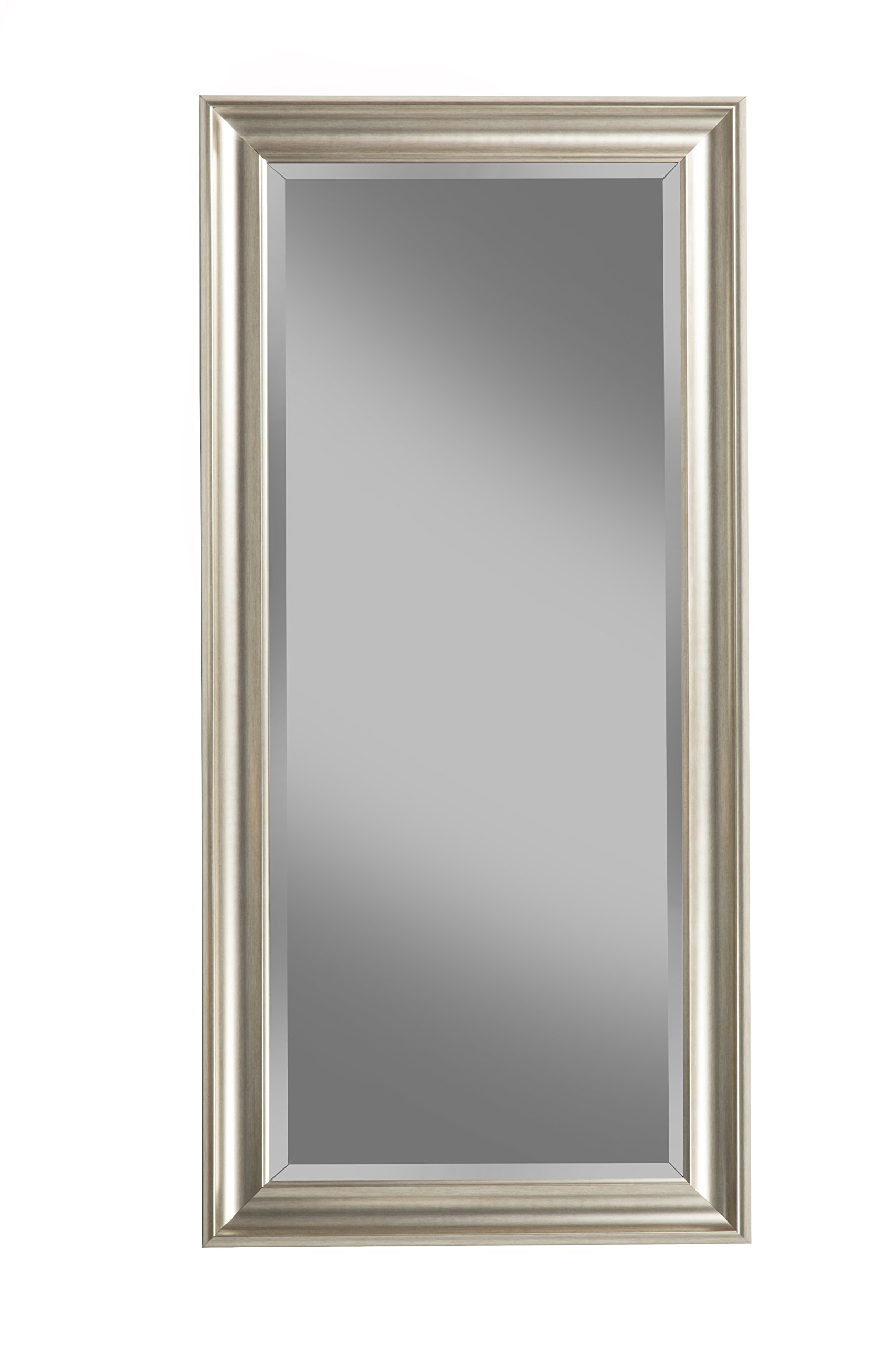 Sandberg Furniture Champagne Silver Full Length Leaner Mirror