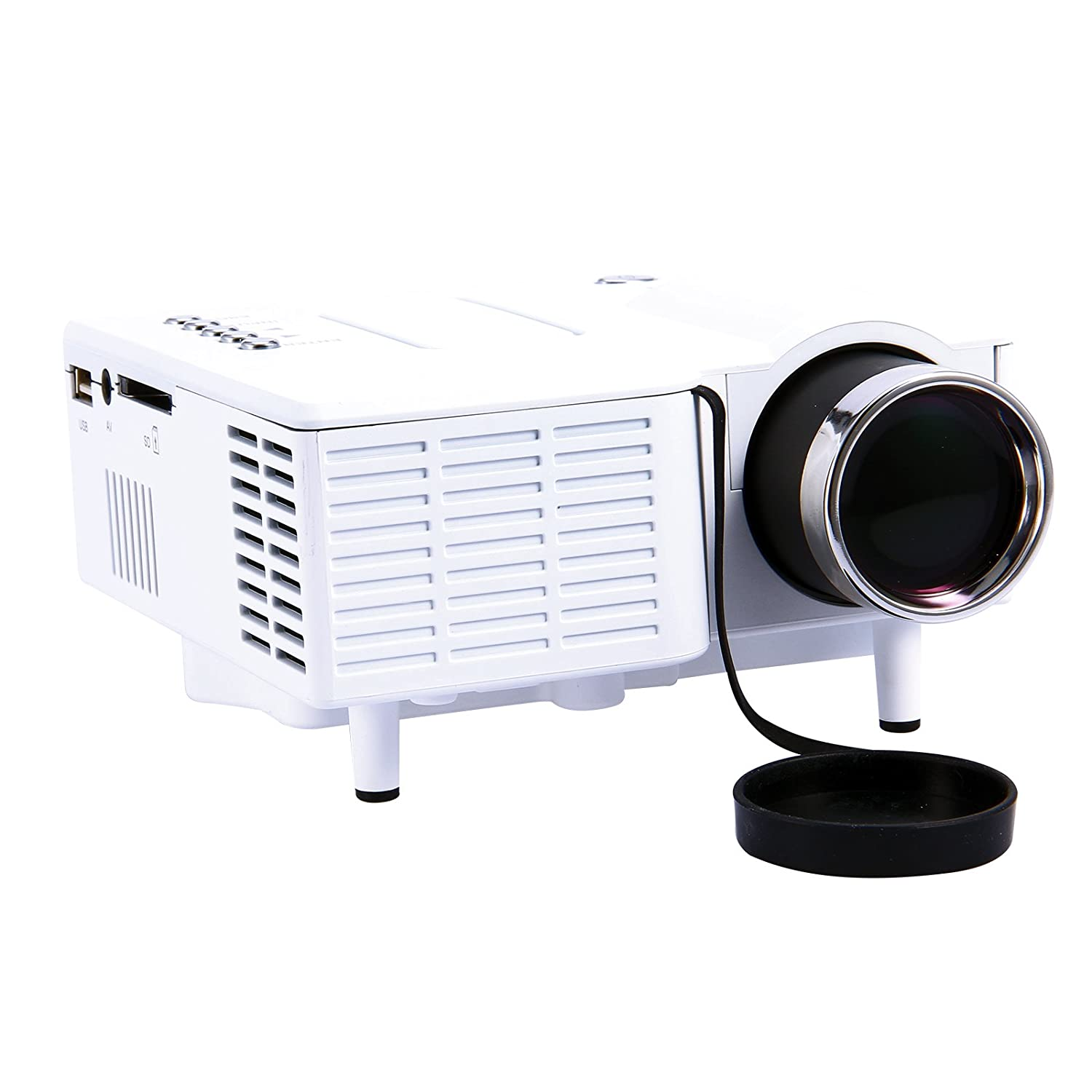 Lightinthebox Mini Portable LCD LED Projector Home: Amazon.co.uk ...