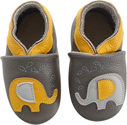 Baby Moccasins Soft Leather Toddler
