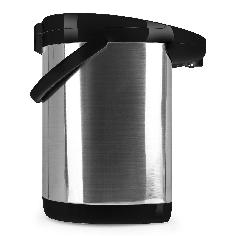 oneConcept Grand Champion • Termo • Dispensador de agua caliente • Jarra térmica • 680 W • 5 Litros • Regulable a 5 Temperaturas• Depósito de acero ...