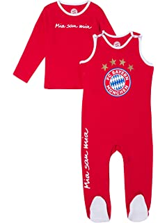 FC Bayern M/ünchen Baby Schlafanzug Logo