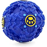 Sunny&Lucky Giggle Ball Dog Toy Wiggle Dog Balls Pet Toy Ball for dogs IQ Treat Ball Interactive Food Dispensing Dog Toy