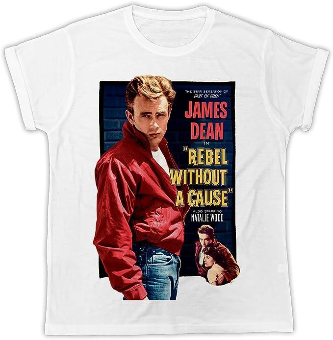 James Dean American Movie Star Men T-shirt