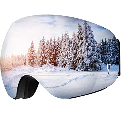 OMORC Gafas de Esquí, Gafas de Nieve de OTG Snowboard Unisex con ...