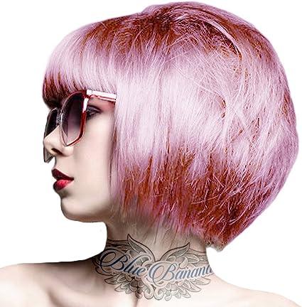 Tinte capilar Semi-Permanente de Crazy Color 100ml (Candy Floss Pink - Rosa Algodón de Azúcar)