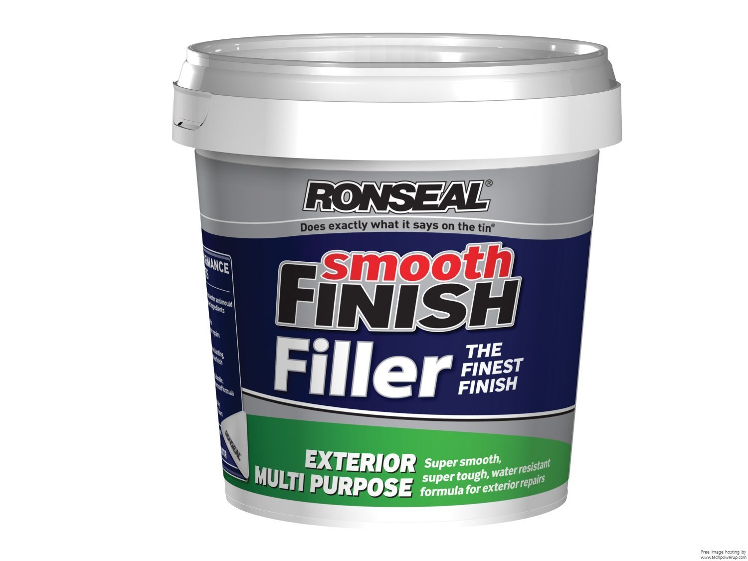 Ronseal - Smooth Finish Exterior Multi Purpose Ready Mix Filler Tub 1.2 kg 6886450-HHW