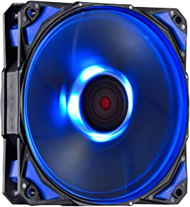 COOLER FAN PARA GABINETE 120MM FURY F4 LED AZUL - F4120LDAZ, PCYES, 24035