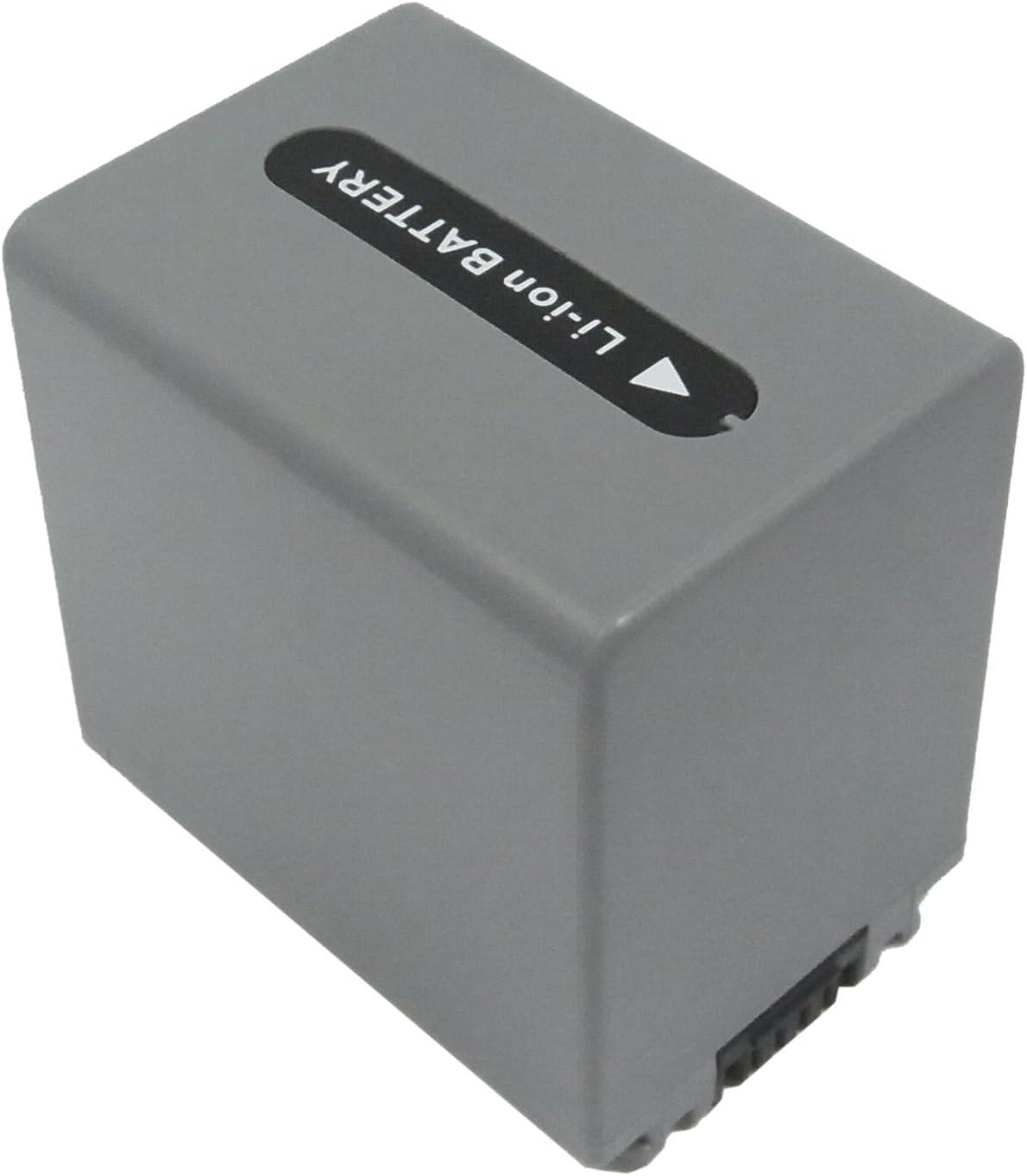 Rechargeable Battery NP-FP81 Replacement for Sony DCR-DVD103 DCR-DVD105 DCR-30 7.4v 1800mAh DCR-DVD203