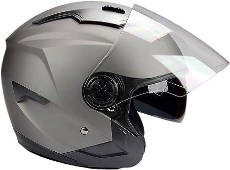 Bno Jethelm Mit Langvisier Jet300 Motorradhelm Roller Helm Schutzhelm Matt Schwarz S Xxl Xxl Auto