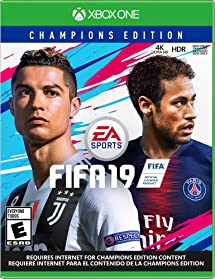 Amazon com: FIFA 19: Champions Edition (Pre-Purchase) - Xbox One