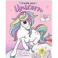 Depesche 10534 schilderboek Create Your Unicorn, Ylvi en de Minimoomis, kleurrijk