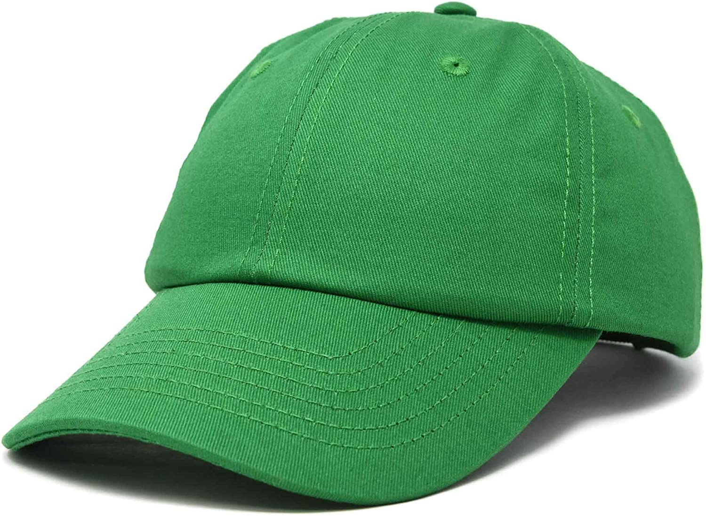 DALIX Baseball Cap Dad Hat Plain Men Women Cotton Adjustable Blank Unstructured Soft