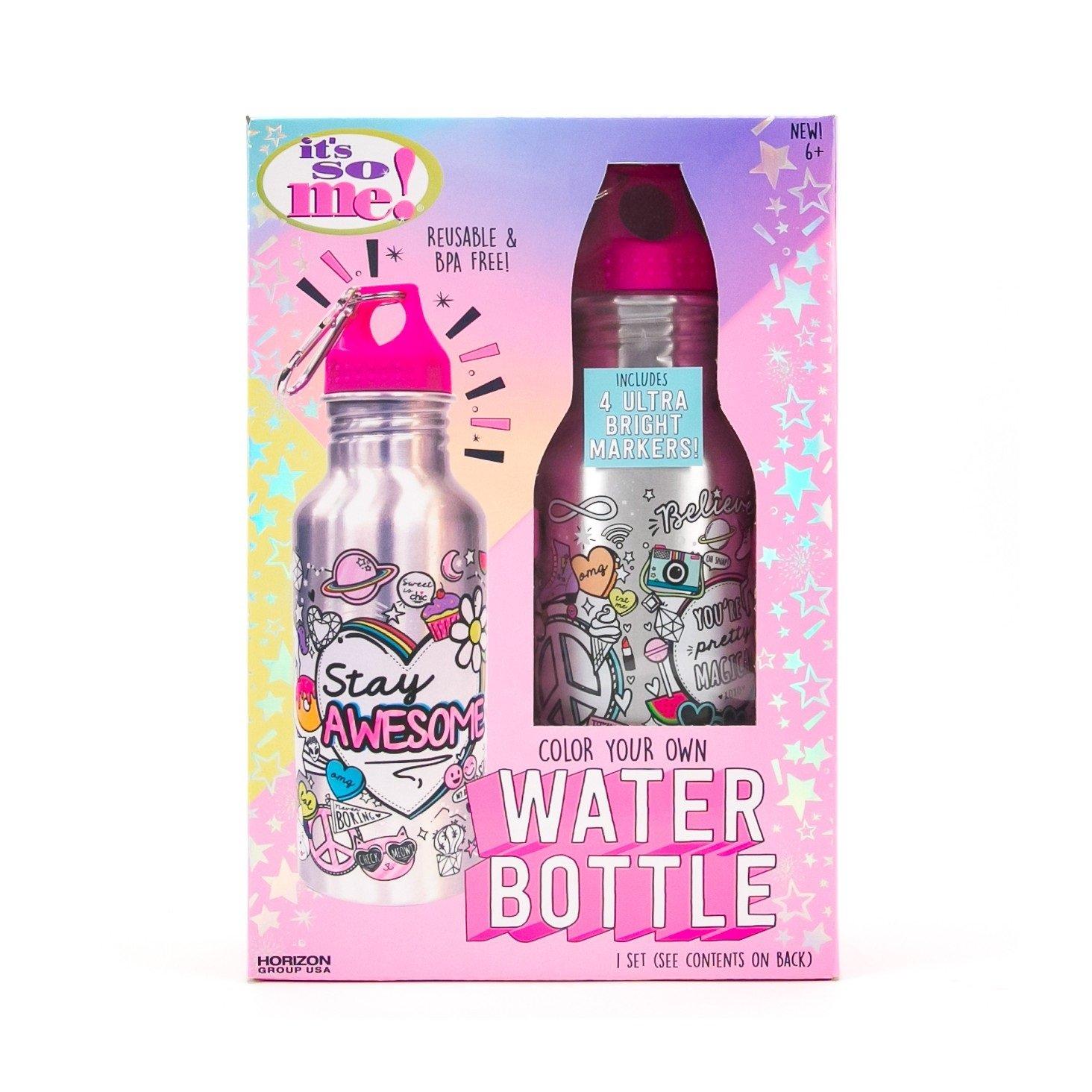 Amazon.com: It 's So Me. Botella De Agua Kit: Health ...
