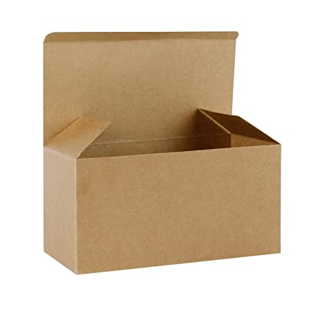 RUSPEPA 23 X 11.5 X 11.5Cm Cajas De Regalo De Cartón Reciclado Con Tapas,