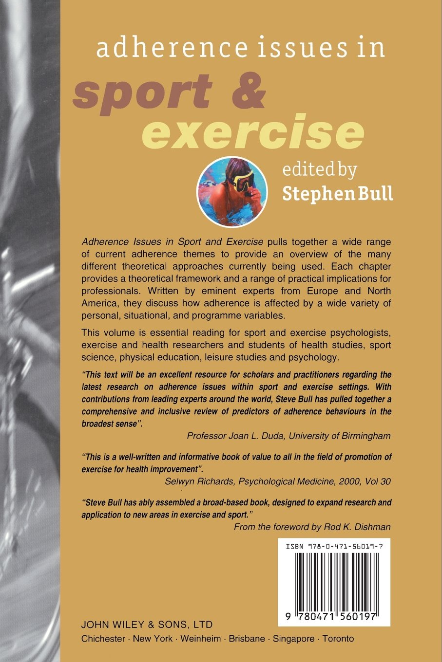 Adherence Issues in Sport And Exercise: Amazon.co.uk: Stephen Bull:  9780471560197: Books