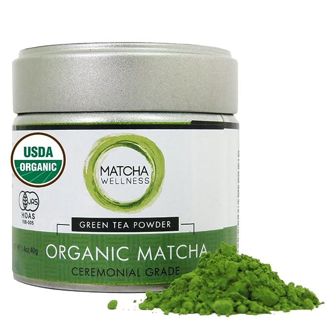 3 opinioni per Tè verde Matcha Cerimonial più alti USDA Organic | Made in Uji regione Kyoto