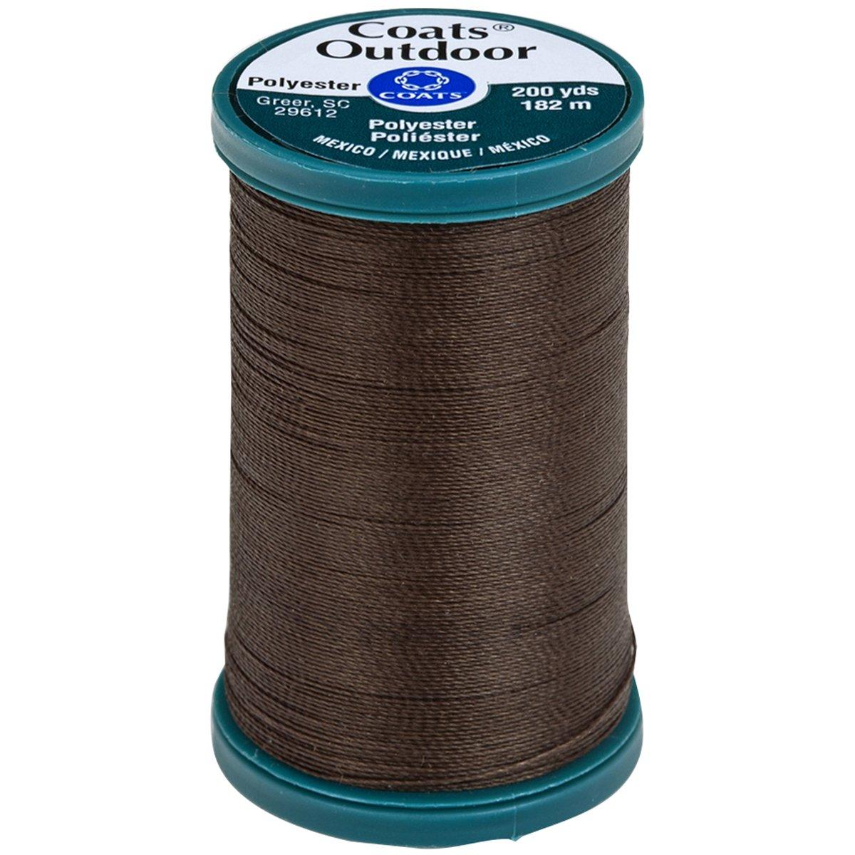 Coats Thread & Zippers Coats Outdoor Living Thread, 200-Yard, Dark Brown S971-8890