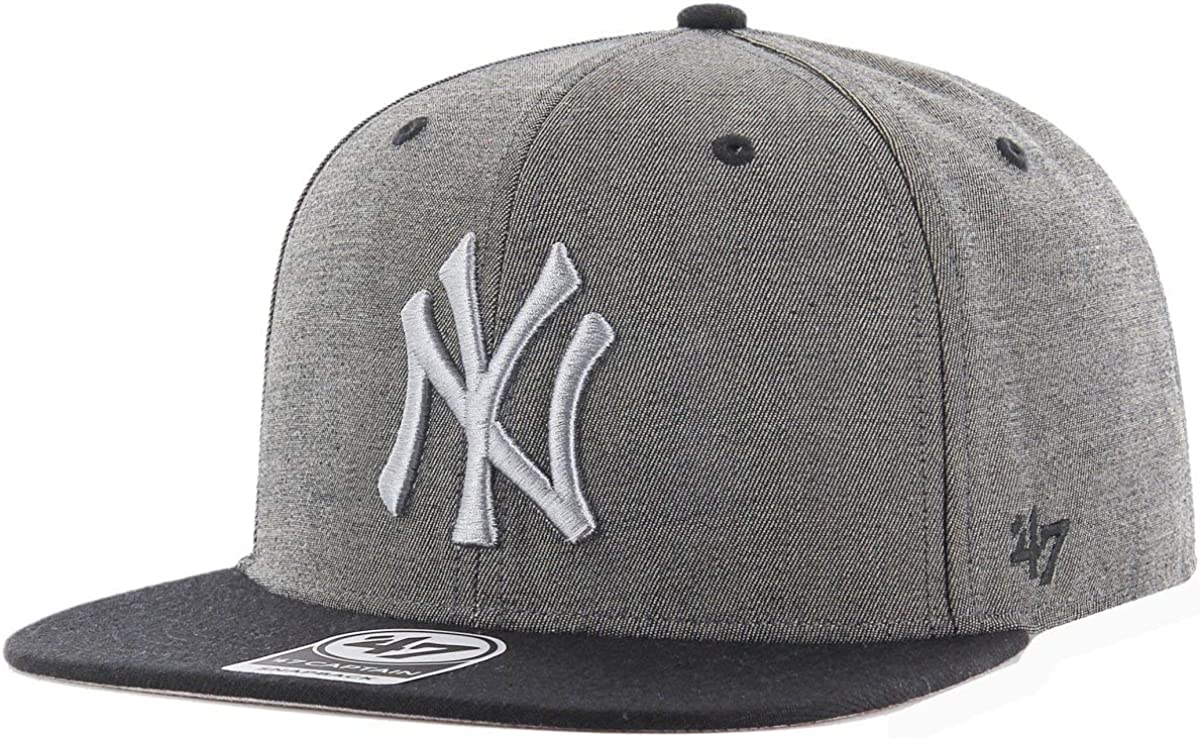 Gorra 47 Brand – Mlb New York Yankees Captain Snapback gris/negro ...